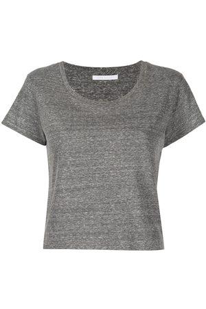 JOHN ELLIOTT Scoop-neck cropped T-Shirt