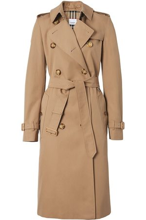 Burberry Belted gabardine trench coat