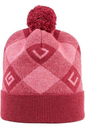Gucci Geometric G intarsia-knit pompom hat