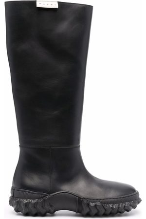 Marni Knee-length leather boots