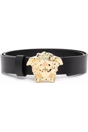 Versace Kids Medusa-plaque buckle belt