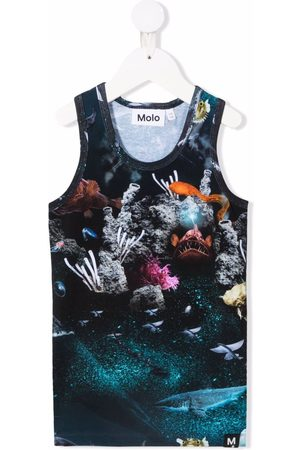 Molo Underwater-print vest