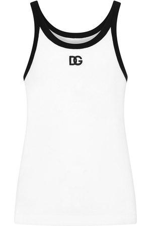 Dolce & Gabbana Logo-print tank top