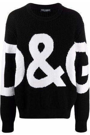Dolce & Gabbana Logo-knit jumper