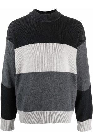Z Zegna Striped knit jumper