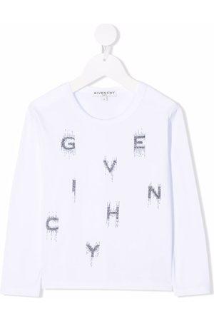 Givenchy Crystal-embellished logo T-shirt