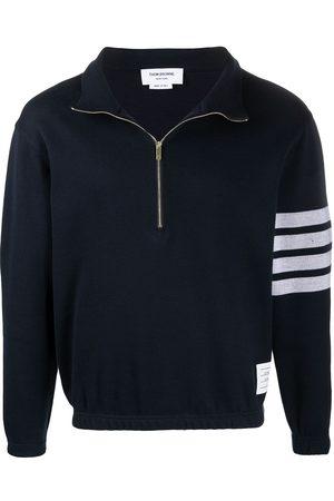 Thom Browne Striped-sleeve jumper