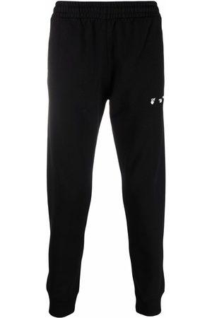 Off-White Logo-detail slim-fit track pants