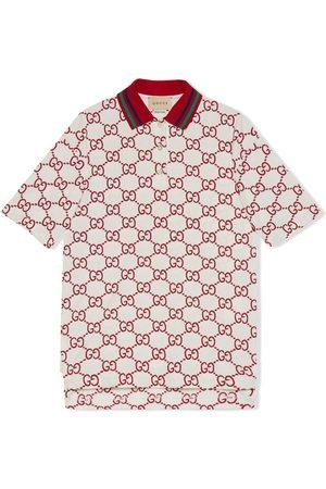 Gucci GG short-sleeve polo shirt