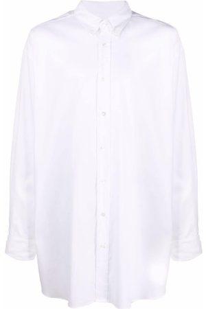 Maison Margiela Long-length button-up shirt