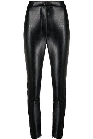 Stella McCartney Faux-leather skinny trousers