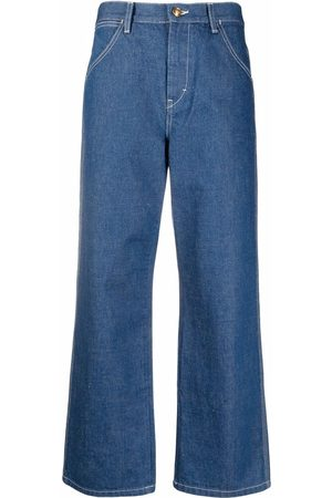 Tory Burch Wide-leg cropped jeans