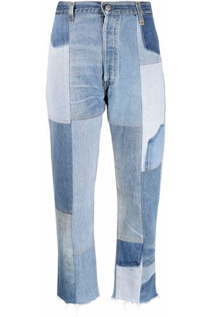 RE/DONE Patchwork-panel jeans