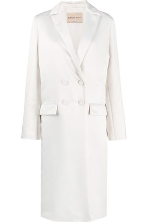Emilio Pucci Double-breasted mid-length coat