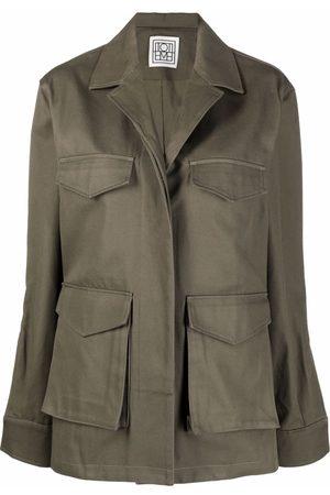 Totême Senhora Manga comprida - Long-sleeve shirt jacket