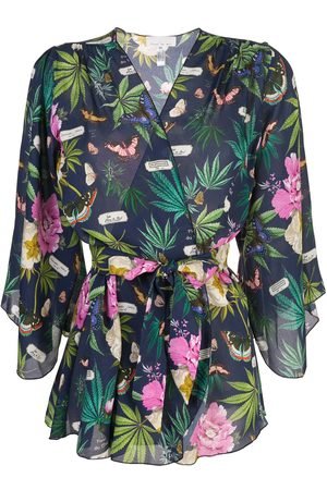 FLEUR DU MAL Angel sleeve robe