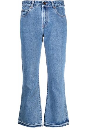 RED Valentino Cropped flared jeans