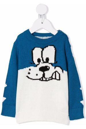 Stella McCartney Cartoon-print knitted jumper