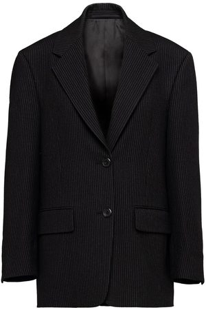 Prada Single-breasted pinstripe blazer