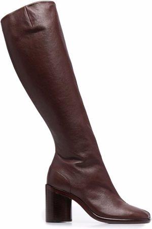 Maison Margiela Tabi knee-high boots