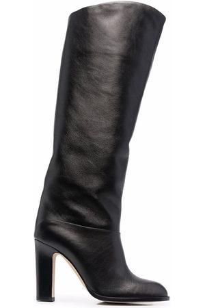 PARIS TEXAS 100mm asymmetric knee boots