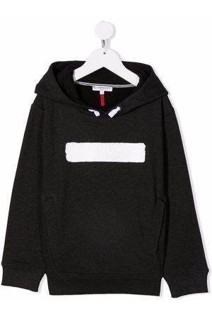 Givenchy Contrasting logo cotton hoodie