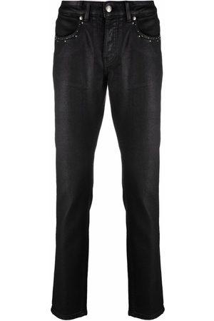 John Richmond Studded slim fit jeans