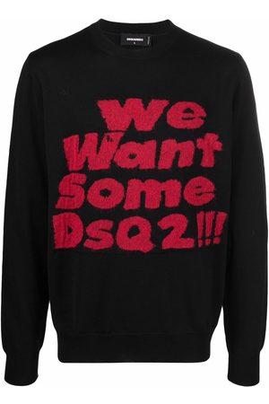 Dsquared2 We Want Some Dsq2!!! slogan jumper