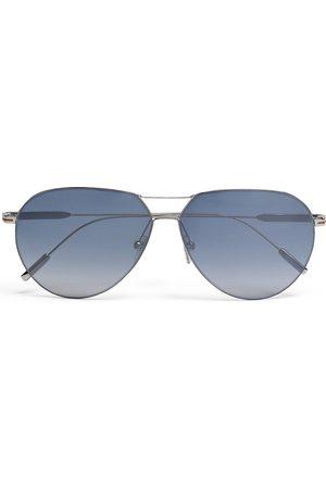 Ermenegildo Zegna Leggerissimo aviator-frame sunglasses