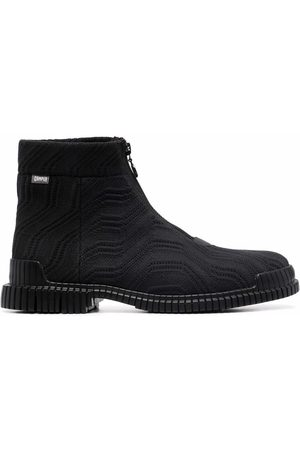 Camper Pix front-zip ankle boots