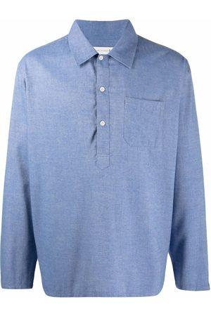 MACKINTOSH Military cotton-wool shirt