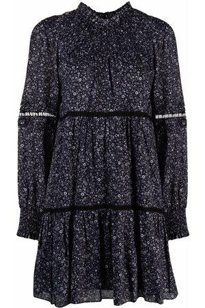 Michael Kors Floral flared mini dress