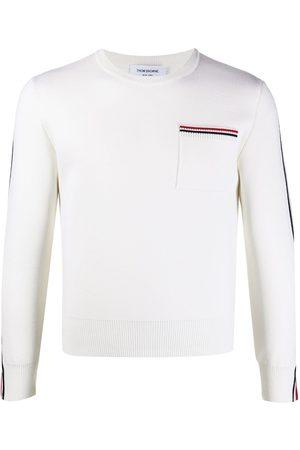 Thom Browne Tri-stripe long-sleeve jumper