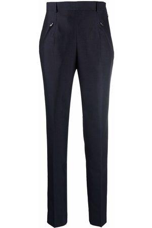Maison Margiela High-waisted zip-pocket trousers