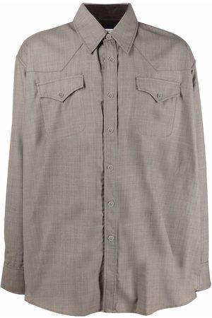 OUR LEGACY Ranch-cut longsleeved shirt