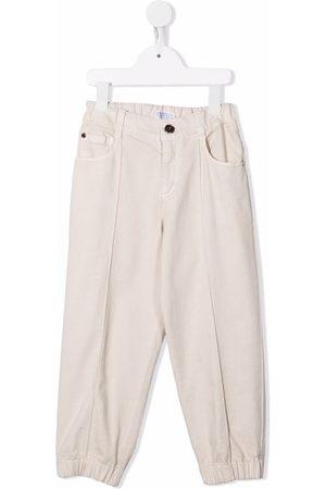 Brunello Cucinelli Pressed-crease trousers