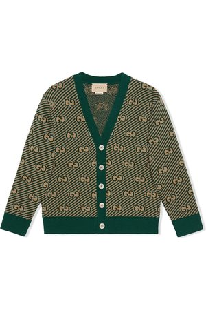 Gucci GG wool cardigan