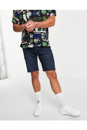 Levis Levi's 405 standard straight fit denim shorts in navy