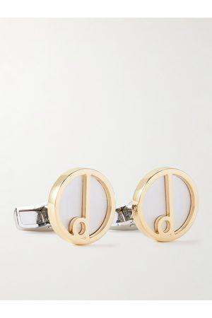 Dunhill Homem Botões de Punho - Gold- and -Tone Cufflinks