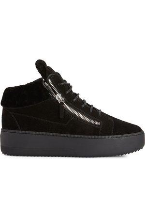 Giuseppe Zanotti Homem Ténis - Kriss suede platform sneakers