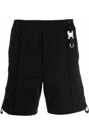 1017 ALYX 9SM Homem Bermudas - Buckle-detail Bermuda shorts