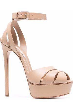 Casadei Senhora Sandálias com plataforma - Open-toe platform sandals