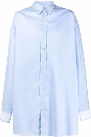Maison Margiela Oversized cotton shirt