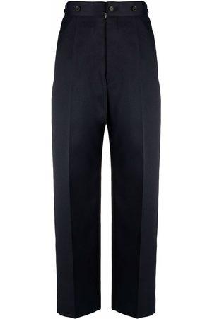 Maison Margiela Senhora Calças Formal - Cropped tailored trousers