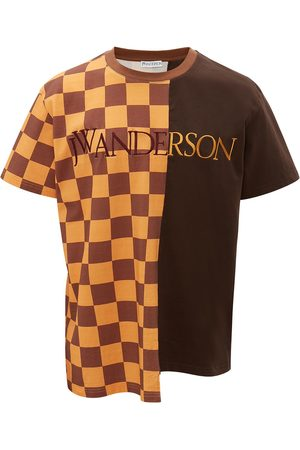 J.W.Anderson CHECKERBOARD PATCHWORK T-SHIRT