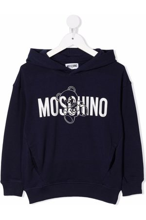 Moschino Menino Camisolas com capuz - Logo-print hoodie