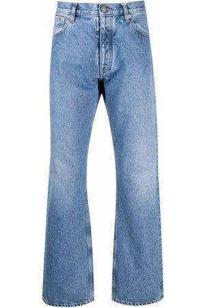 Maison Margiela Homem Bootcut & Boca-de-sino - Mid rise bootcut jeans