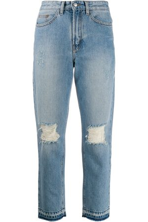 Zadig & Voltaire Distressed straight jeans