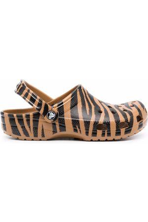 Crocs Senhora Chinelos - Zebra-print slides