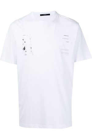 STAMPD Eroded-print T-shirt